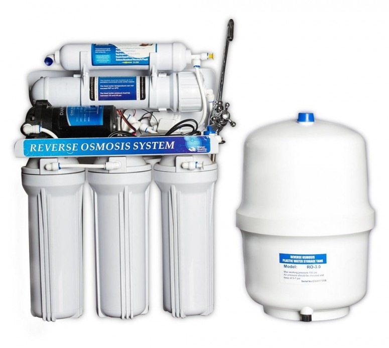 UPDATE (Standard 5 stage RO system with pump)